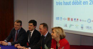 Signature du contrat de Délégation de Service Public d'affermage avec la société COVAGE