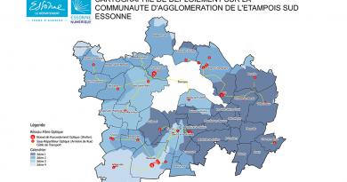 Focus sur la communauté d'agglomération de l'Étampois Sud-Essonne