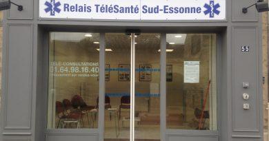 Ouverture officielle du 1er relais télésanté Sud-Essonne en France situé à Moigny-sur-École